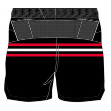Black Classic Stripes - Apex Enduro Run Shorts