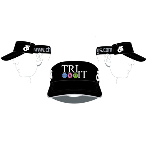 Tri It for Life - Visor (Black)