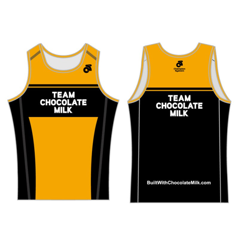 Team Chocolate Milk Men's Performance Lite Run Singlet