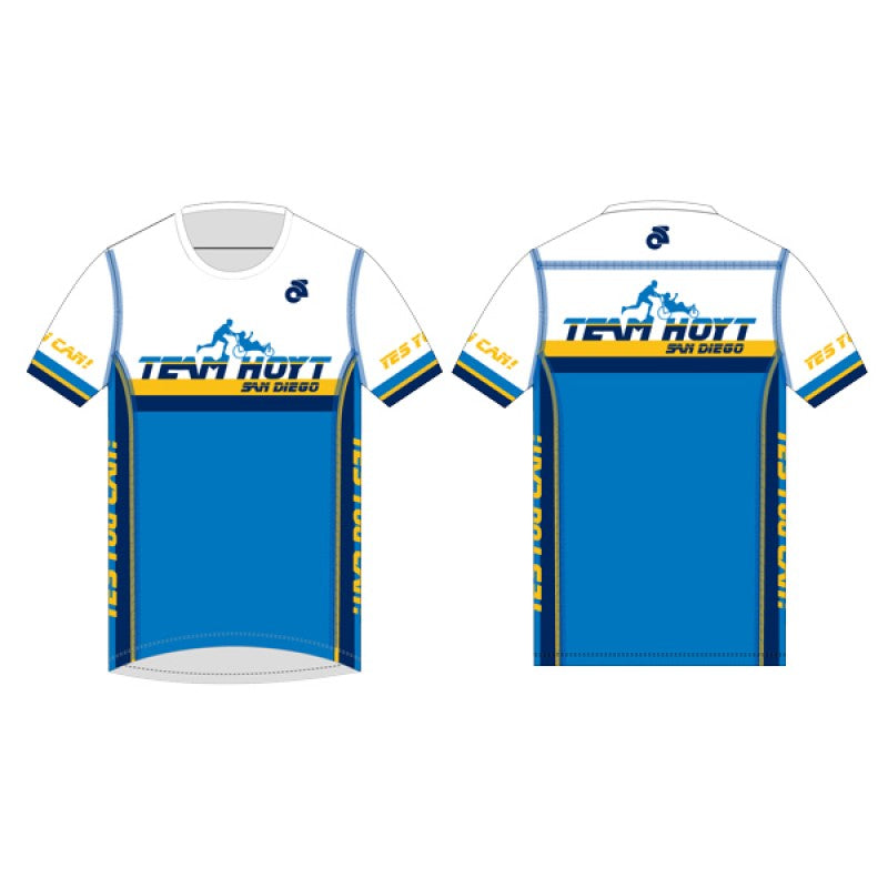 Team Hoyt San Diego Men's Short Sleeve Performace Lite Run Top - Classic
