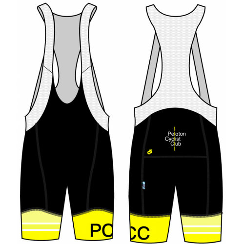 PCC Yellow Performance Bib Short