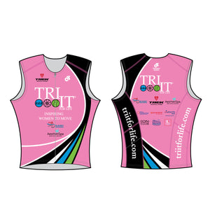 Tri It for Life Charleston - Performance Blade Tri Top - Long Length