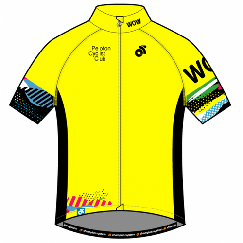 PCC Yellow Performance Pro Short Sleeve Jersey