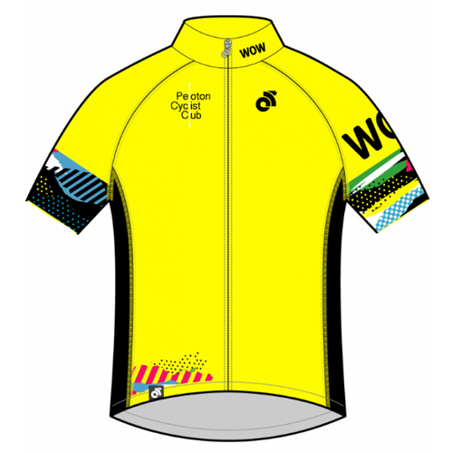 PCC Yellow Tech Summer Short Sleeve Jersey