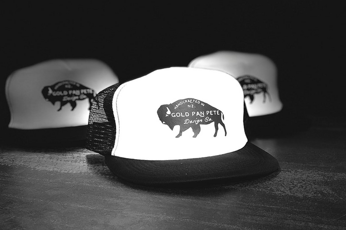 Bison Logo Trucker Hat