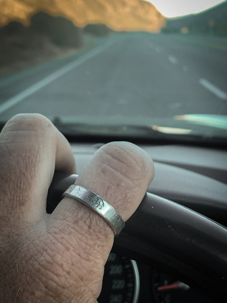 The Wild Bison Ring