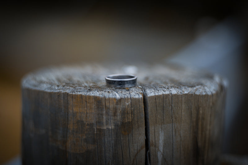 United States Quarter Coin Ring
