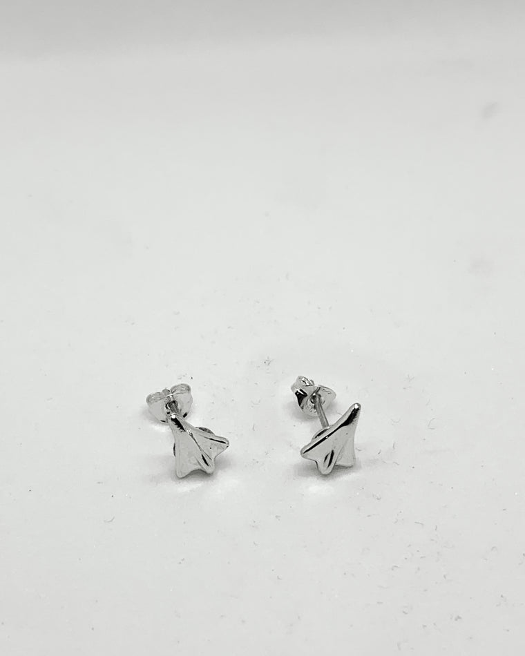 Jet Planes Stud Earrings