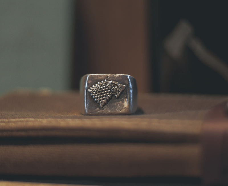 House Stark Dire Wolf Ring