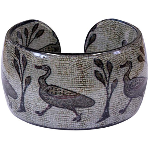 Roman Duck Mosaic Bangle