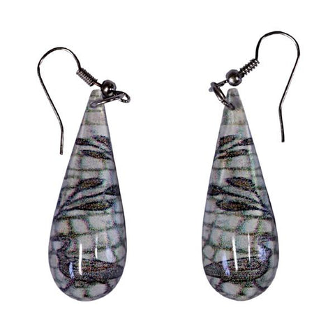 Roman Duck Mosaic Earrings