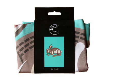 Corinium Creature Hare Tea Towel