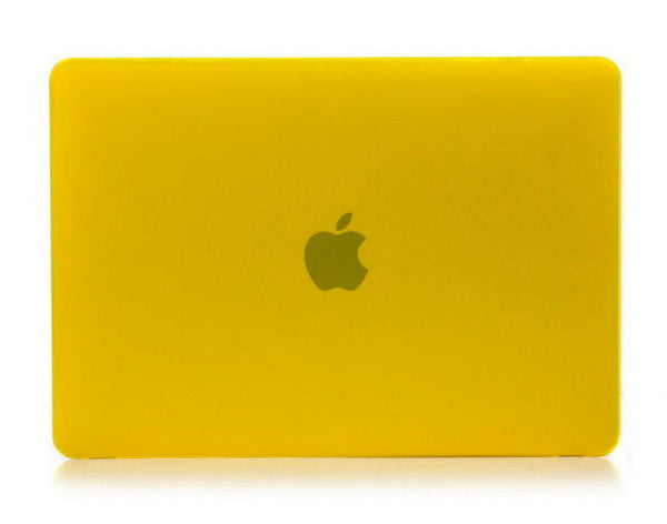 Transparent gul cover til Macbook air