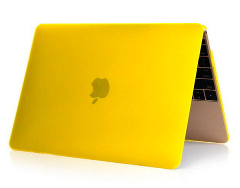 Transparent gul cover til Macbook Pro