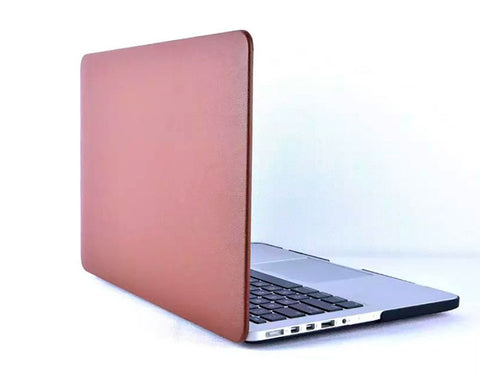 Safari læder cover MacBook Air Brun