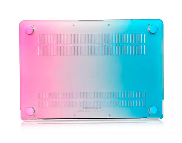 Transparent regnbue cover til Macbook Pro