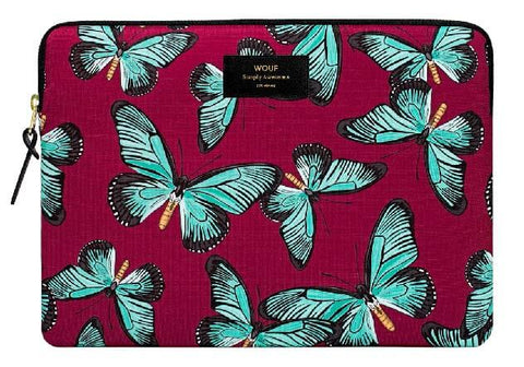 "WOUF - BUTTERFLY 13"" - Laptop sleeve"