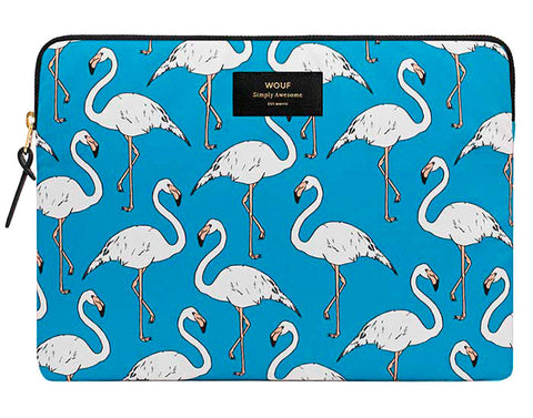 "WOOUF - FLAMINGO 13"" - LAPTOP SLEEVE"