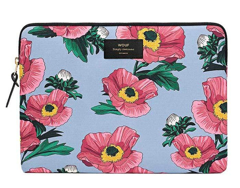 "WOUF - FLOWERS 13"" - Laptop sleeve"