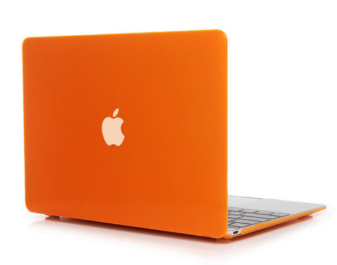 Transparent orange cover til Macbook Pro