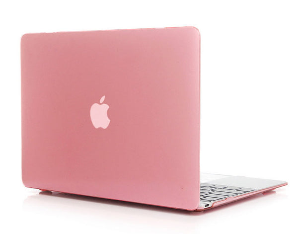 Transparent pink cover til Macbook air