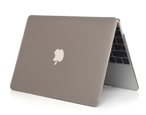 Transparent grå cover til Macbook Pro