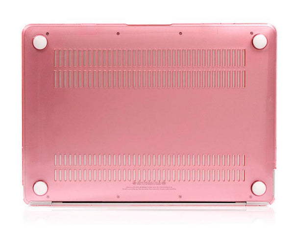Transparent pink cover til Macbook Pro
