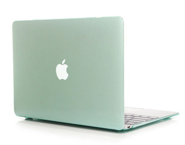 Transparent mint cover til Macbook Pro