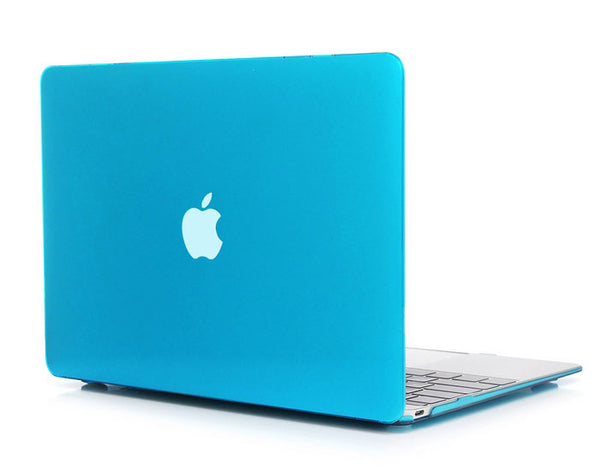 Transparent lyseblå cover til Macbook Air