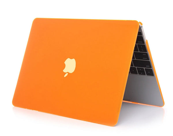 Transparent orange cover til Macbook air