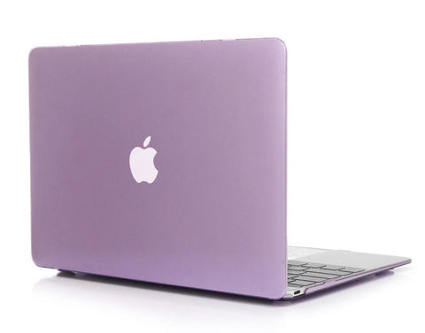 Transparent lilla cover til Macbook air