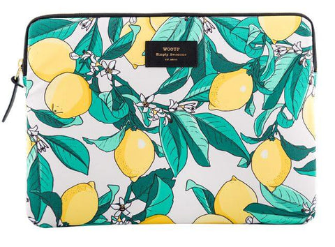"WOUF - LEMON 13"" - LAPTOP SLEEVE"