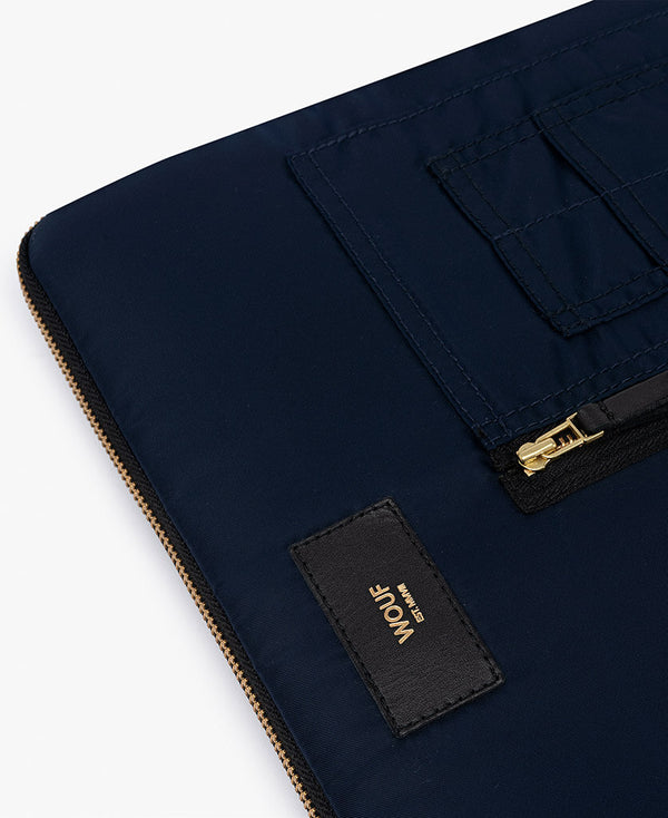 WOUF NAVY BOMBER Computer sleeve - BOMO.DK