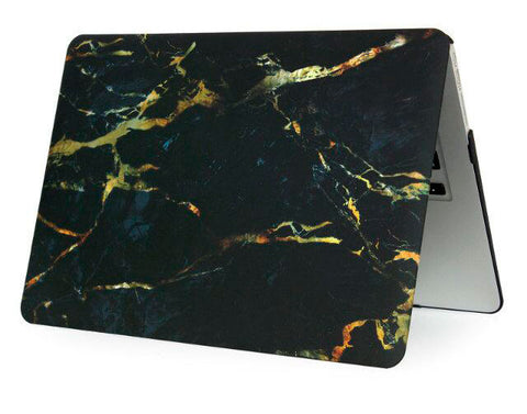 Marmor golden stone cover til Macbook pro