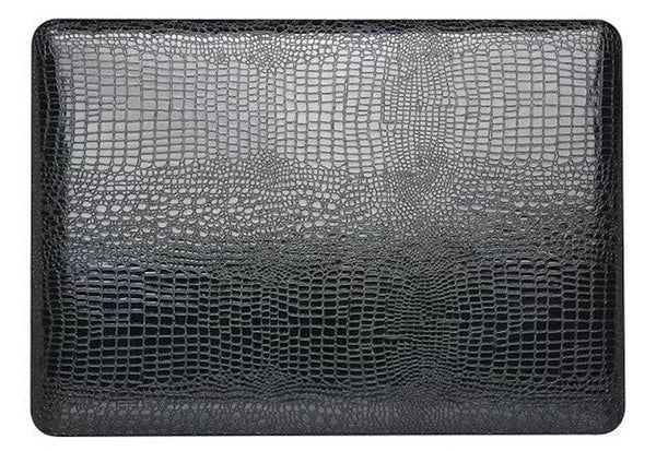 Snake skin MacBook Pro cover Sort