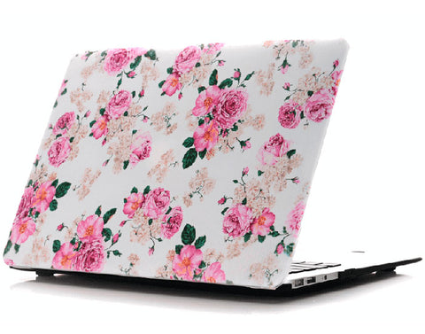 Flower power Macbook Air cover