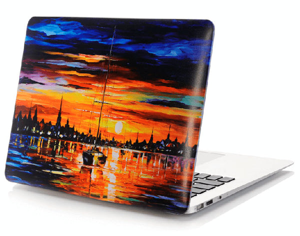 Sunset Macbook Air cover