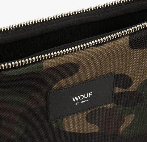 Camouflage computer sleeve fra wouf