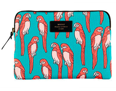 "WOOUF - PARROT 13"" - LAPTOP SLEEVE"