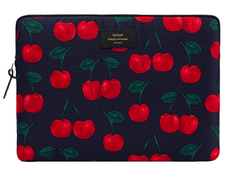 "WOUF - CHERRIES 13"" - LAPTOP SLEEVE"