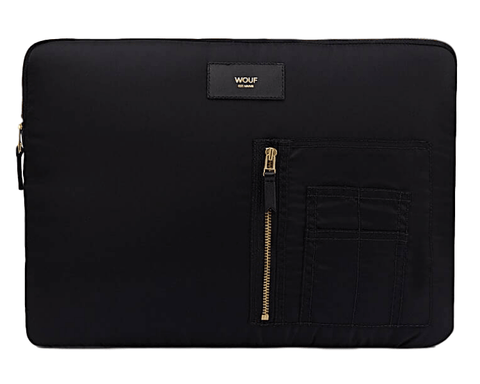 "WOUF - BLACK BOMBER 13"" - Laptop sleeve"