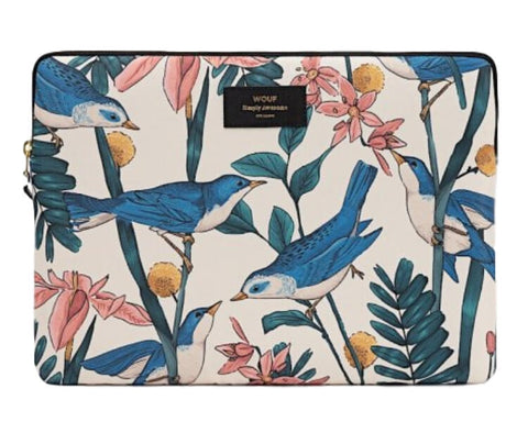 "WOUF - BIRDIES 13""/15"" - Laptop sleeve"