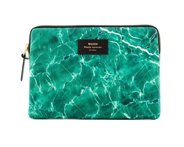 WOUF - Green Marble - iPad cover