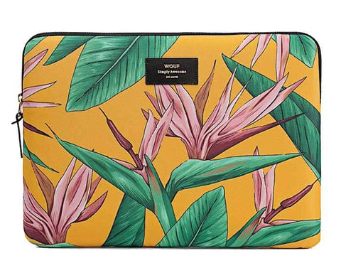 "WOUF - Bird of Paradise 13"" - Laptop sleeve"