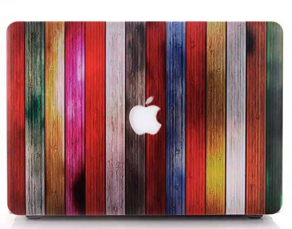 Dirty rainbow MacBook air 13 cover