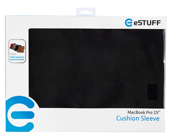 eSTUFF Sleeve for MacBook Sort 11/13/15