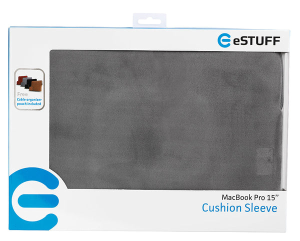 eSTUFF Sleeve for MacBook Grå 11/15