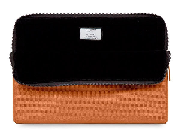 Knomo Bronze Embossed Laptop Sleeve MBP 15