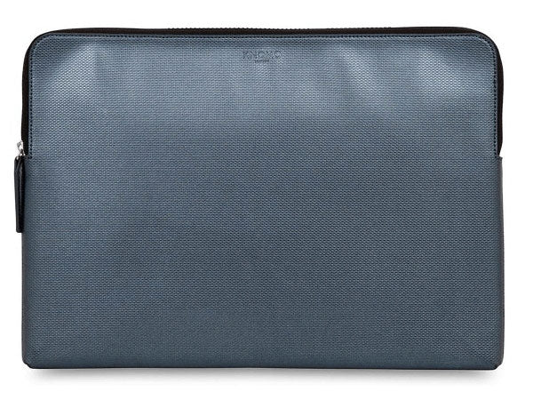 Knomo Silver Embossed Laptop Sleeve MBP 15""