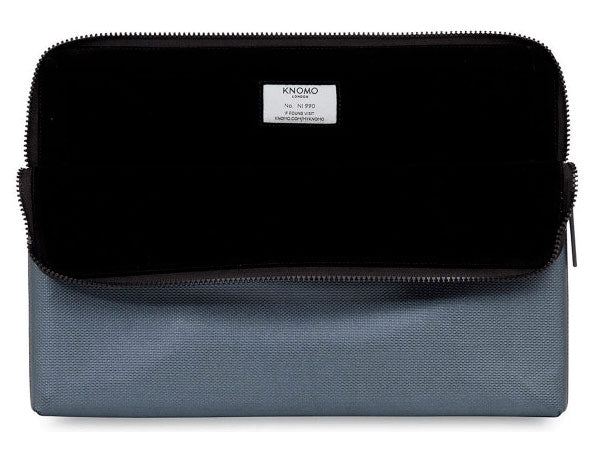 Knomo Silver Embossed Laptop Sleeve MBP 15